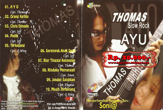 Thomas Arya - Ayu (Album Slowrock)