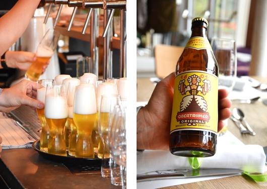 Kühles Bier in der Trumerei