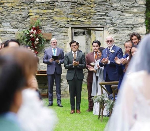 Anne Curtis and Erwan Heussaff wedding 2017 groom tears