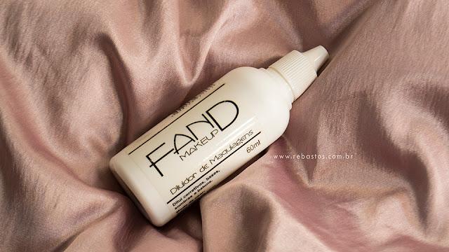 Diluidor de maquiagens FAND Makeup