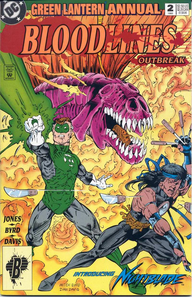 Green Lantern (1990) Annual 2 Page 1