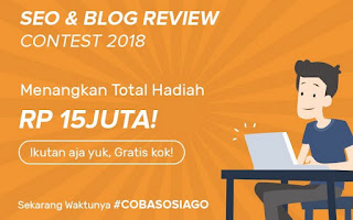 Kontes SEO 2019 Coba SOSIAGO Influencer Marketing
