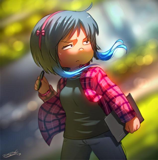 ilustraciones de personajes por DFer