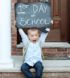 विद्यालय का पहला दिन