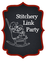 http://www.supermomnocape.com/2015/06/08/vintage-embroidery-monday-stitchery-link-party-9/