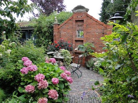 Ruinenmauer Gartentrend