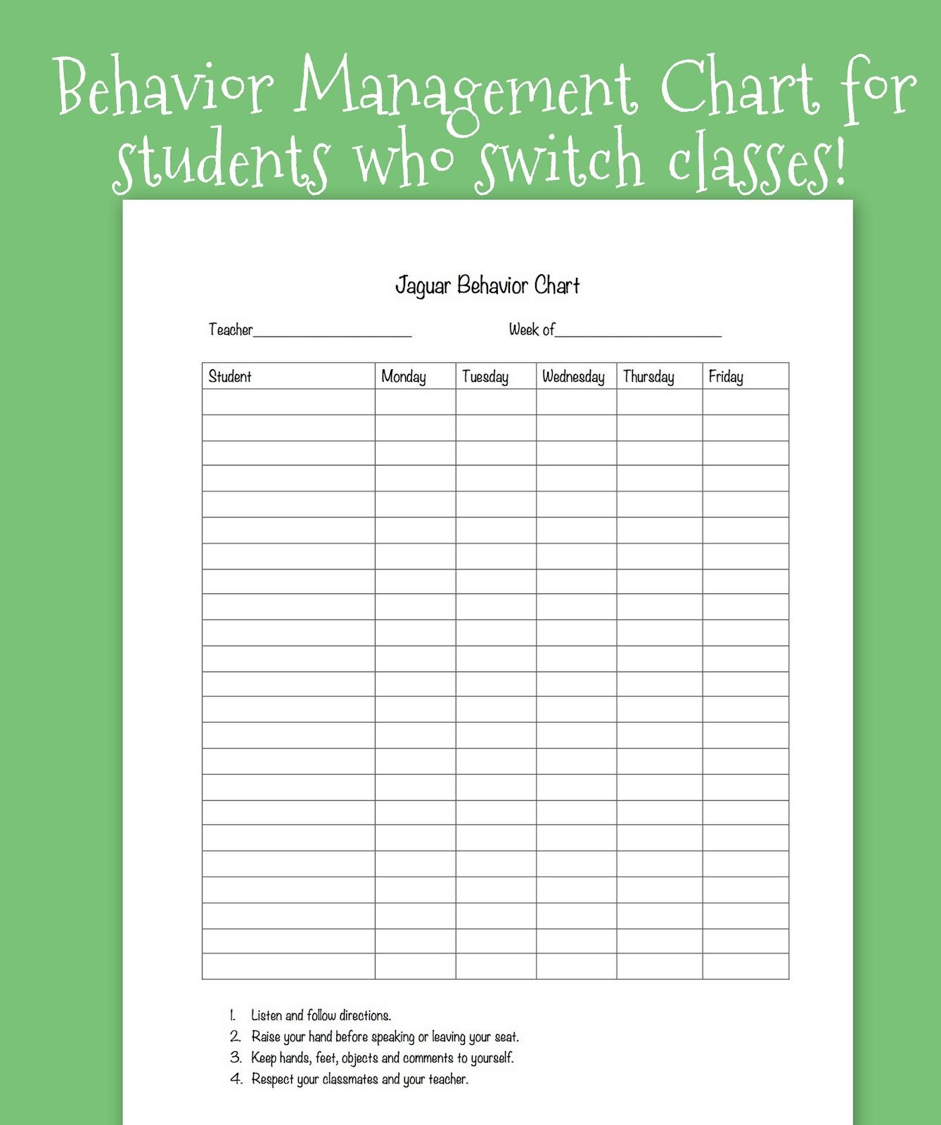 Tween Teaching Classroom Behavior System For Upper Grades