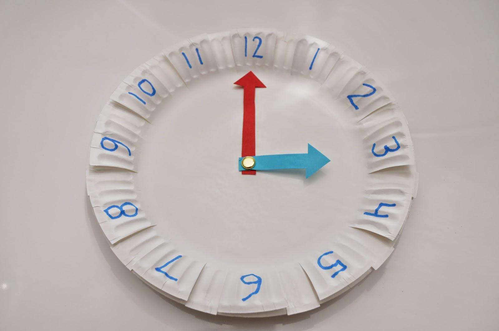Kalbs & Yules: Random DIY teaching clock!