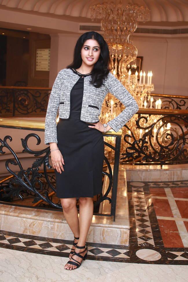 Actress Tanya At Karuppan Movie Press Meet Event Photo