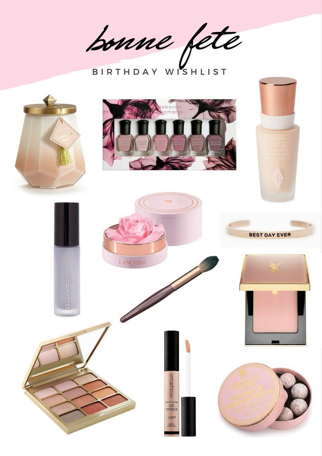 Bonne Fete | Wishes For A New Year & A New Chapter | My Birthday Wishlist | labellesirene.ca