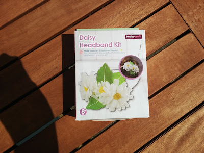 Daisy Headband Kit from Hobbycraft #Review