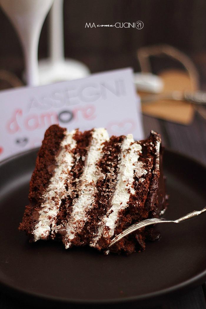 torta al cioccolato e panna(fetta)