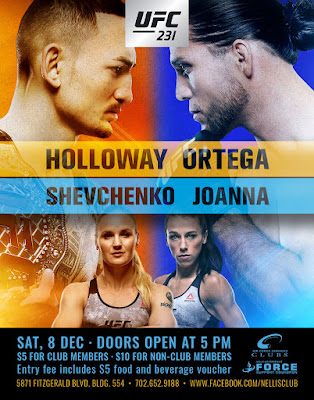 UFC 231 Holloway Vs Ortega 2018 Custom HD Latino