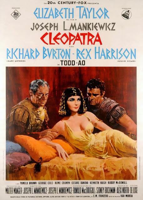 Póster película Cleopatra - 1963