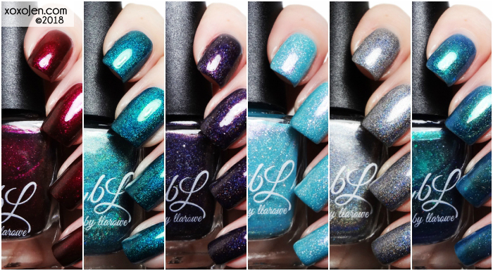 xoxoJen's swatch of Colors By Llarowe C4N Limited Edition Collection