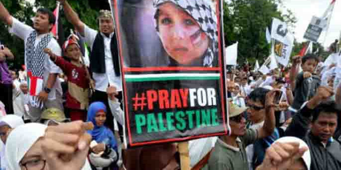 Aksi Bela Palestina, Ketua MUI KH Ma'aruf Amin Serukan Massa Boikot Amerika