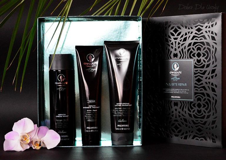 Paul Mitchell Awapuhi Wild Ginger - luksusowa seria kosmetyków do włosów z kompleksem Kera-Triplex
