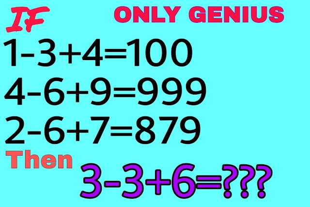 Amazing maths puzzle