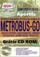 Apostila Concurso Metrobus Goiânia 2016 comum a Todos os cargos