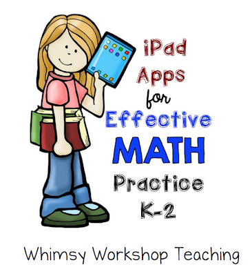 List of great math apps for the primary classroom