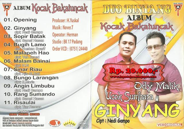 Ody Malik & Ucok Sumbara - Ginyang (Album Kocak Bakatuncak)