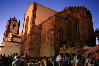 Gothic cathedral of Silves in Portugal