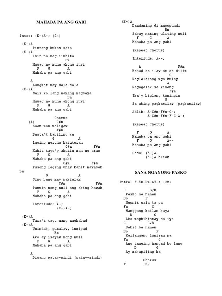 Pasko na naman guitar chords images guitar chords examples kailan chords philippin news collections kailan chords kailan chords eraserheads kailan chords noel cabangon sa kanya hexwebz Gallery