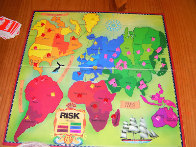 risk armies i threw a 2 and he threw a 4