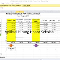 Aplikasi untuk Menghitung Besaran Honor GTT/PTT Sesuai Juknis BOS 2017
