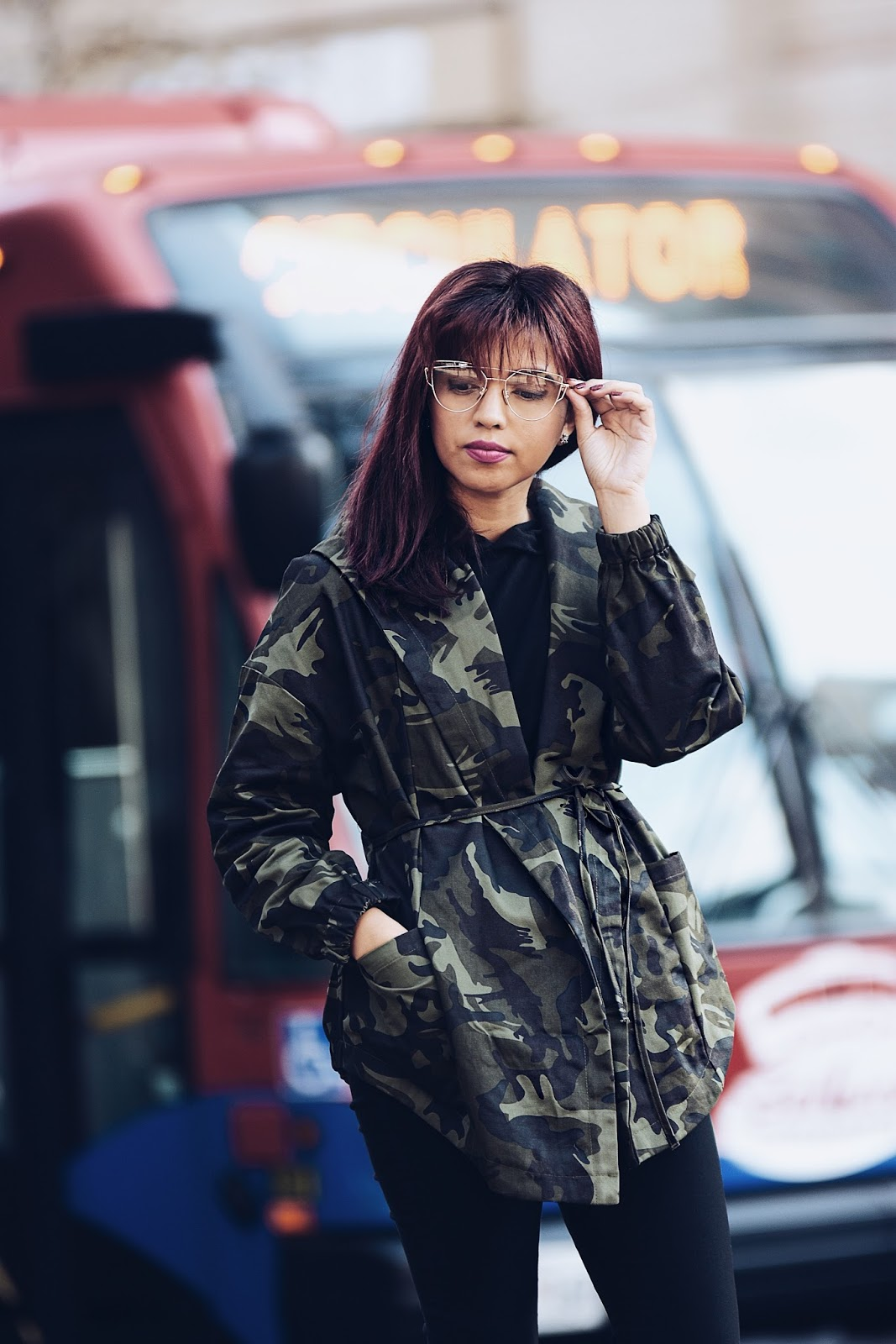 New Hair Style-MariEstilo-Camo Jacket-Look of the day-fashionblogger-boots of the day-fashionista-dcblogger-armandhugon