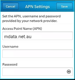 New Aldi mobile apn settings blackberry