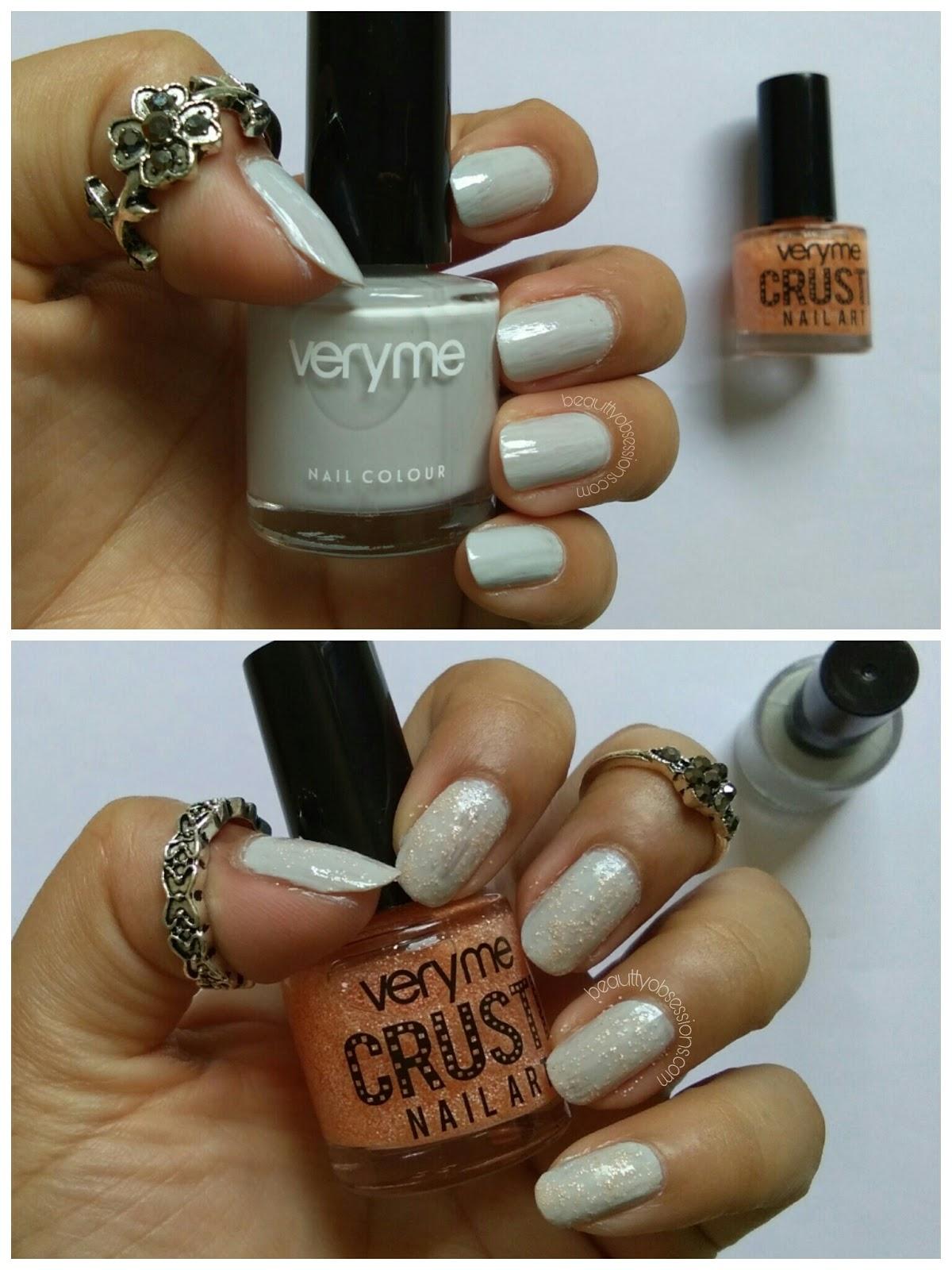 Oriflame Very Me \'Crusti Nailart \' Nail Polishes Review - Beauty ...