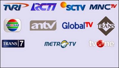 website muncul di televisi