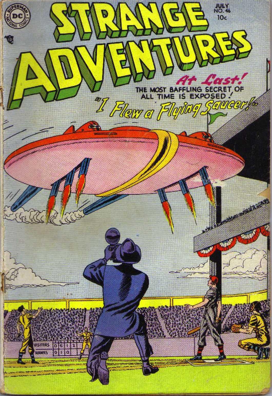 Strange Adventures (1950) issue 46 - Page 1