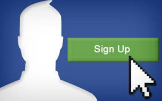 Facebook sign up problems