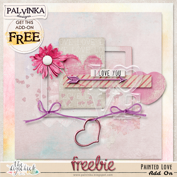 Painted Love Collection by Palvinka Designs