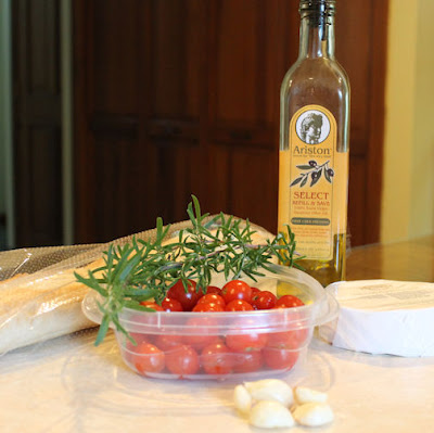 Simple Ingredients for Tasty Bruschetta
