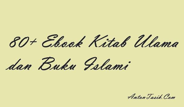 80+ Ebook Kitab Ulama dan Buku Islami