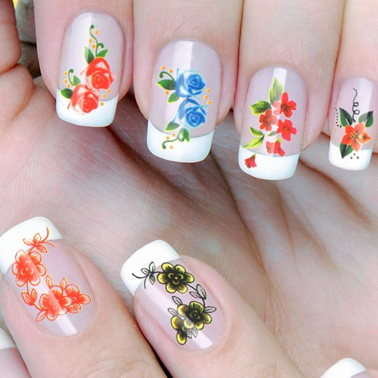 Unas Decoradas Con Flores 30 Ideas Fantasticas Moda Y Tendencias