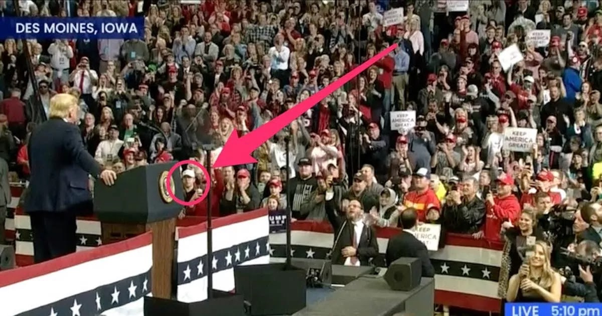 The 17-Year-Old Killer Of 2 BLM Protesters Spotted At Trump Rally In January Sitting In Front Row