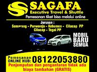 Jadwal Travel Sagafa Travel Semarang - Cilacap PP