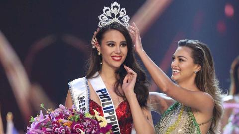 Catriona Gray wins Miss Universe 2018 crown
