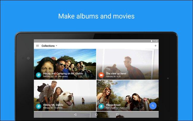 Google Foto (gratuito) per i video e foto