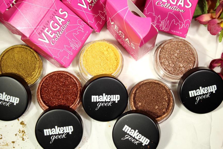 Makeup Geek (MUG) Vegas Collection Pigments