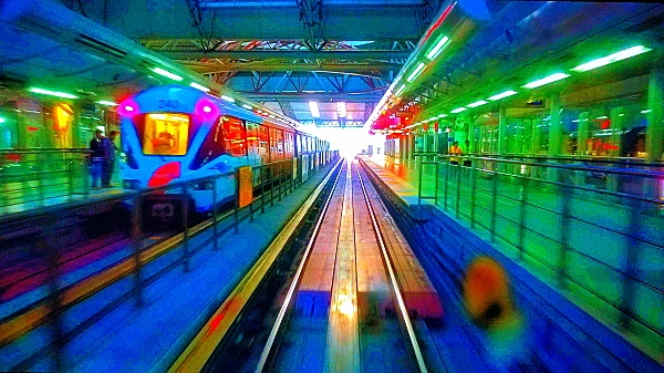 Mobile Photography, Colors of KL Sentral 05
