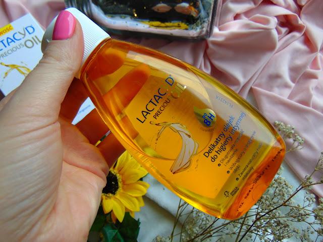Lactacyd Precious Oil - Pierwszy olejek do higieny intymnej