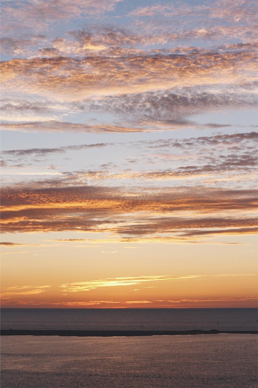 photographie coucher de soleil bassin arcachon dune de pyla