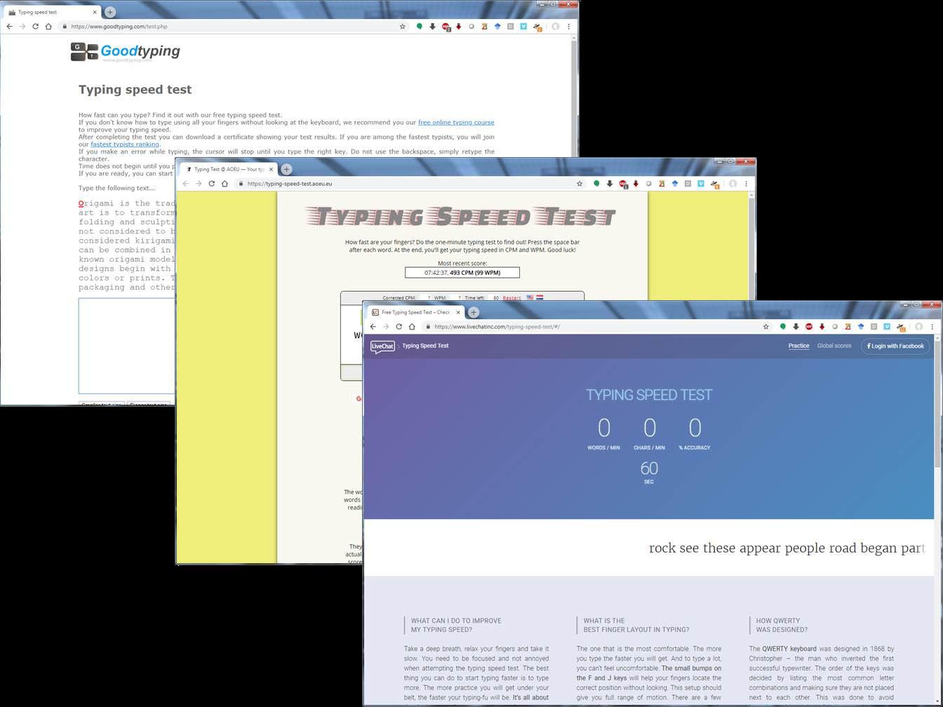 free typing test wpm