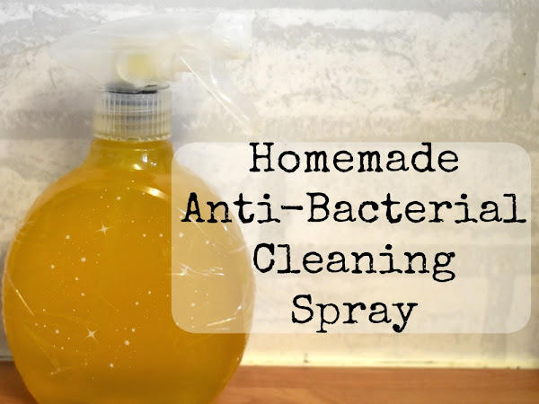 Homemade Antibacterial Cleaning Spray