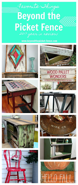 Repurposed thrift store finds and reclaimed wood projects